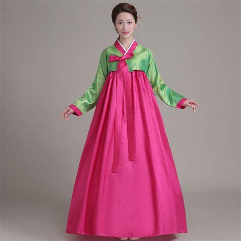 Etnic Dress Korea 2016 new korean traditional costume ethnic performance clothing