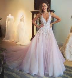 v neck lace prom dresses a line tulle prom dress