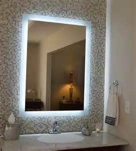 Bathroom Mirrors And Lighting Ideas Interior Design 17 Bathroom Mirror With Led Lights