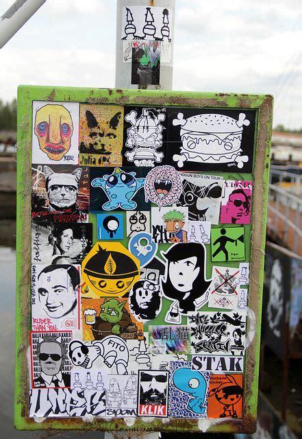 stickercombo sticker street art graffiti wall art