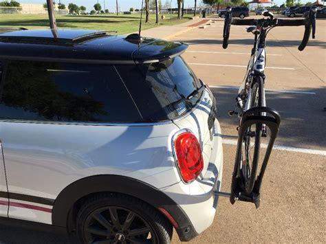 Mini Cooper Convertible Bike Rack by Mini Cooper Bike Rack Mounting System For Luggage