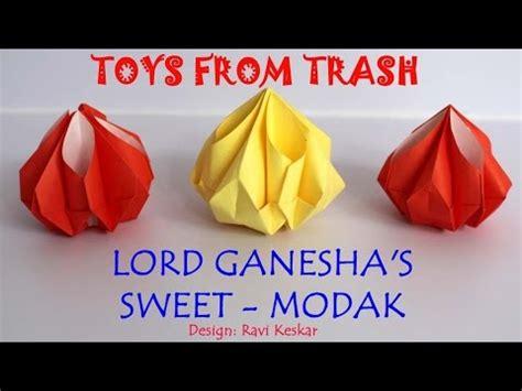 Sweet Origami - lord ganesha s sweet modak origami