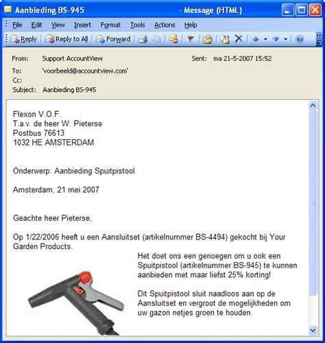layout zakelijke email haal meer uit uw relatiebeheer samenvoegbrieven versturen