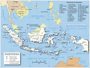 Indonesia Map World by Administrative Map Of Indonesia Nations Online Project