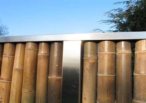 Stehlen Modern by Bambus Zaunelemente Moderner Sichtschutz