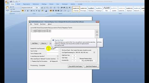 free 6 microsoft word doc how to find and replace text in microsoft word documents files