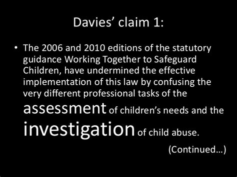 child protection and the