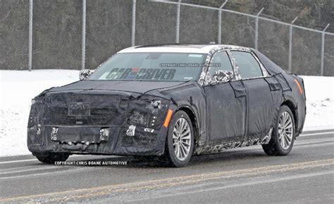 new cadillac size sedan cadillac s new size luxury sedan spotted