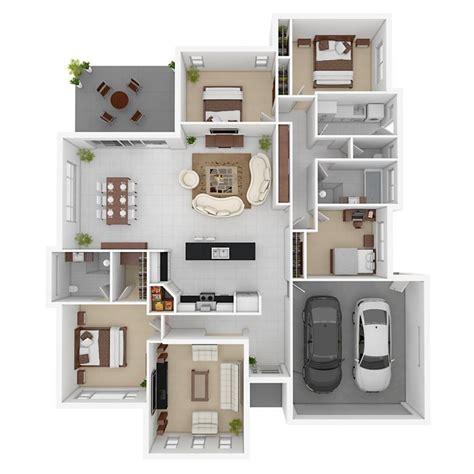17 best images about 2d and 3d floor plan design on 17 meilleures images 224 propos de plan maison sur pinterest
