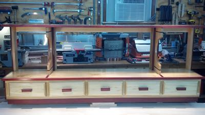 trophy case woodworking blog  plans