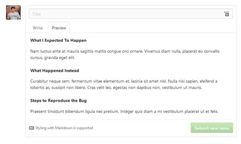 Bug Report Template Github all plugins are ready for 4 6 genbumedia