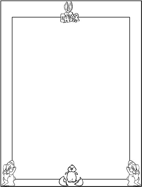 free coloring page borders borders coloring pages free printable colouring pages for