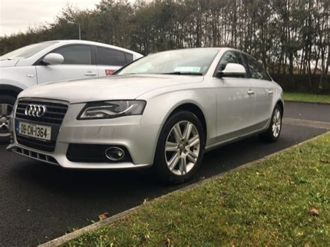 audi warranty check 2008 audi a4 sport 143bhp warranty 2 years nct for sale in