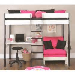 Bunk Bed With Sofa And Desk Underneath by Loft Bed With Bed Underneath Home Design