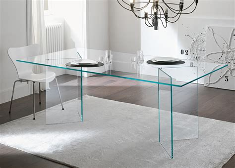 Dimensions Of Kitchen Cabinets by Tonelli Bacco Glass Dining Table Modern Glass Dining Tables