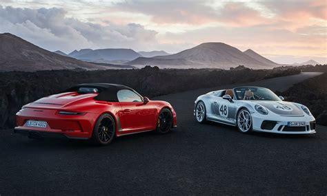2020 Porsche Speedster by 2020 Porsche 911 Speedster Now On Sale In Australia