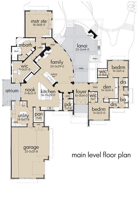 Florida House Floor Plans by Florida House Plans Florida House Plans Cloverdale 30