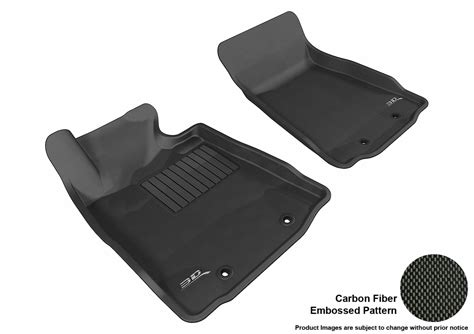 maxpider 3d rubber molded floor mat for nissan 370z 09 15