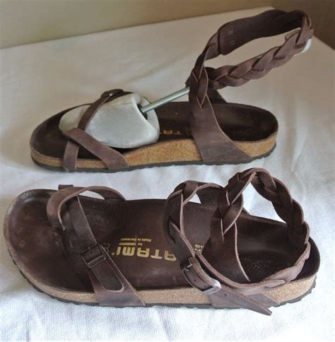 birkenstock braided sandals tatami birkenstock yara leather braided sandals size