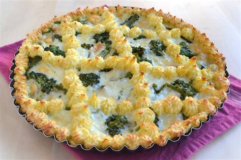 cucinare i broccoli verdi 187 crostata di patate con broccoli e provola ricetta