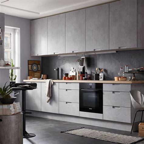 cuisine effet beton 7 styles de cuisine pour trouver la v 244 tre d 233 coration