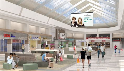 home design outlet center philadelphia former franklin mills mall begins indoor renovations