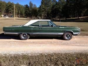 1967 Dodge Coronet 1967 Dodge Coronet 500 383 Survivor Car