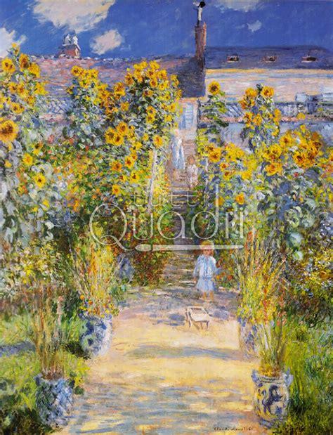 il giardino di quot il giardino di monet a vetheuil quot quadro nella national