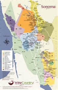 vineyards map sonoma county wineries map winecountry