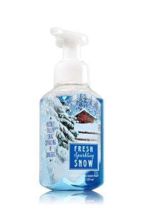 Fresh Sparkling Snow Bath And Works Original bath and works fresh sparkling snow gentle foaming soap reviews photo makeupalley