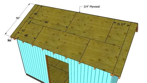 Shed Roofing Sheets by How To Build A Roof For A 12x16 Shed Howtospecialist
