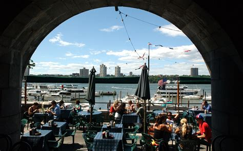 boat drinks new york the best outdoor happy hours in new york city travel