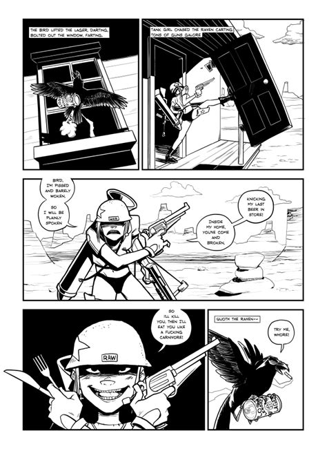 Tank Girl Comic Squarespace Comic Template