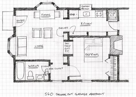 Floor Plan Scale Converter | small scale homes floor plans for garage to apartment