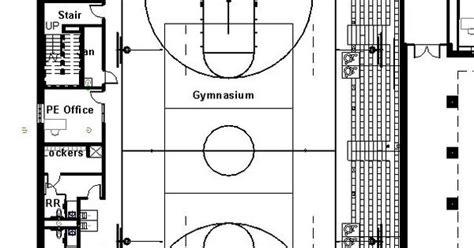 high school gymnasium floor plans elementary school building design plans protsman