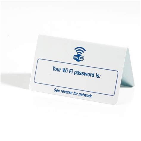wifi password tent sign out of