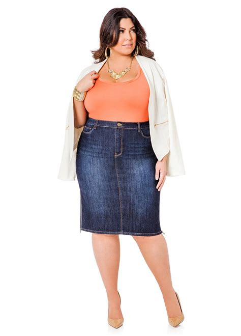 plus size jean skirts sale bbg clothing