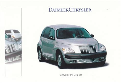 Daimler And Chrysler by Daimler Chrysler Cars On Paper Automotive Collectibles