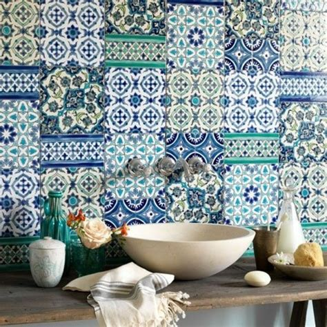 Bathroom Cabinets Painting Ideas moroccan tile backsplash add the charm of the