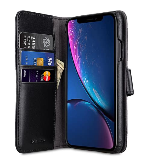 premium leather alphard type for apple iphone xr
