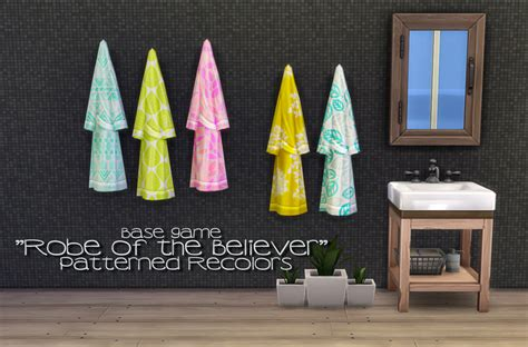 my sims 4 blog base game book recolors by inabadromance my sims 4 blog robe and towel recolors by peachandherpan