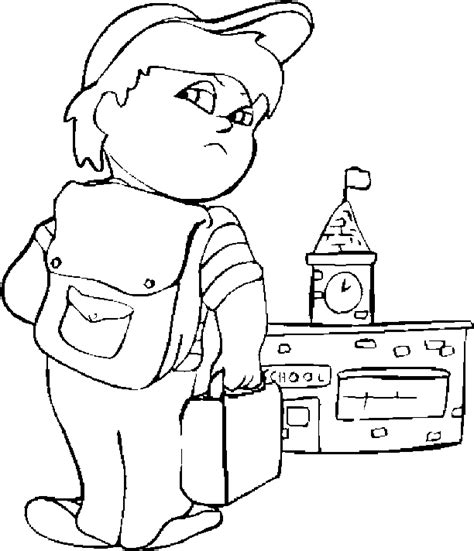 Back To School Coloring Pages Coloringpagesabc Com Back To School Coloring Page