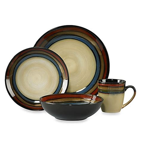 bed bath and beyond dish sets pfaltzgraff 174 galaxy red 16 piece dinnerware set bed bath