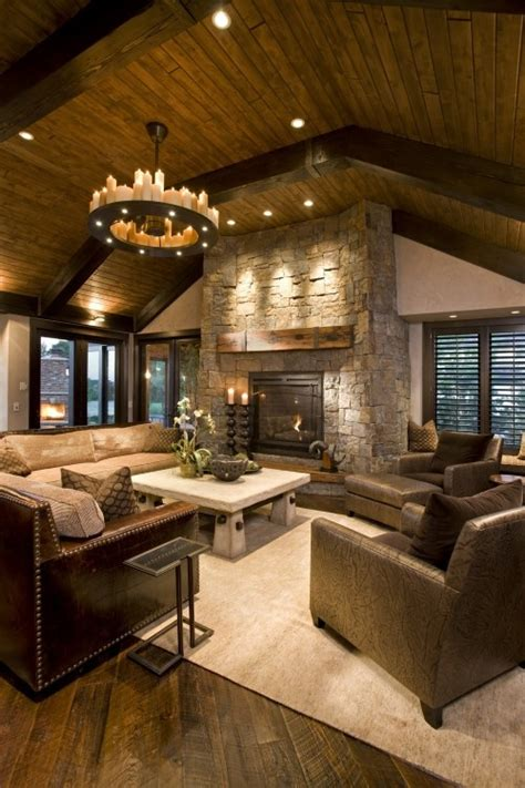 cozy  inviting barn living rooms digsdigs