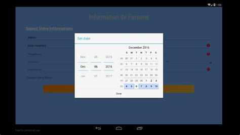 tutorial android koneksi database android tutorial part3 how to create calendar and save