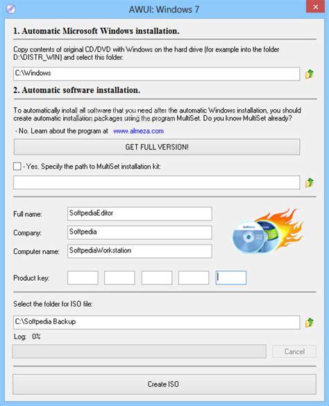 Installer Reports advanced windows unattended installer