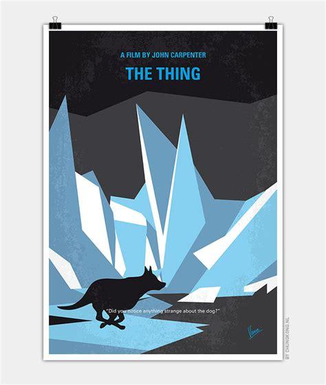 the thing minimalist poster no466 my the thing minimal poster chungkong