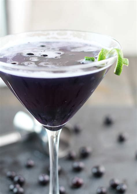 purple martini recipe blueberry purple rain martini 3 yummy tummies