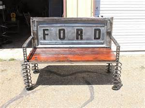 truck tailgate bench old ford truck custom made tailgate benches by recycled