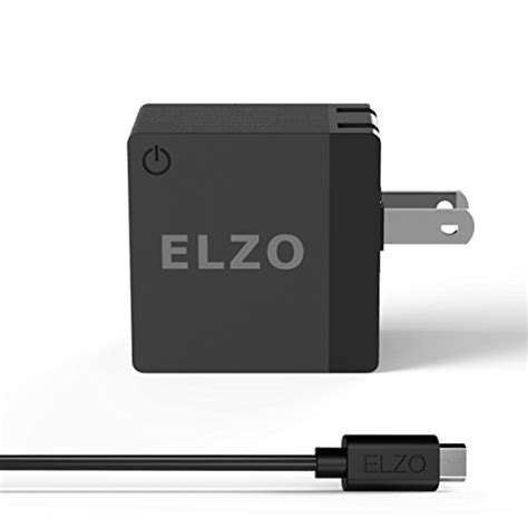 Charger Samsung Galaxy Note 4s6asus Zenfone 2 15 W Fast Charging elzo charge 2 0 18w usb rapid wall charger adapter